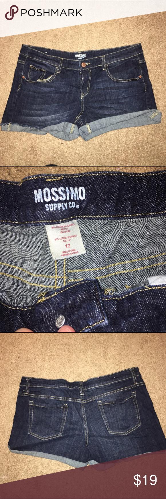 Size 17 Jean shorts So cute Shorts