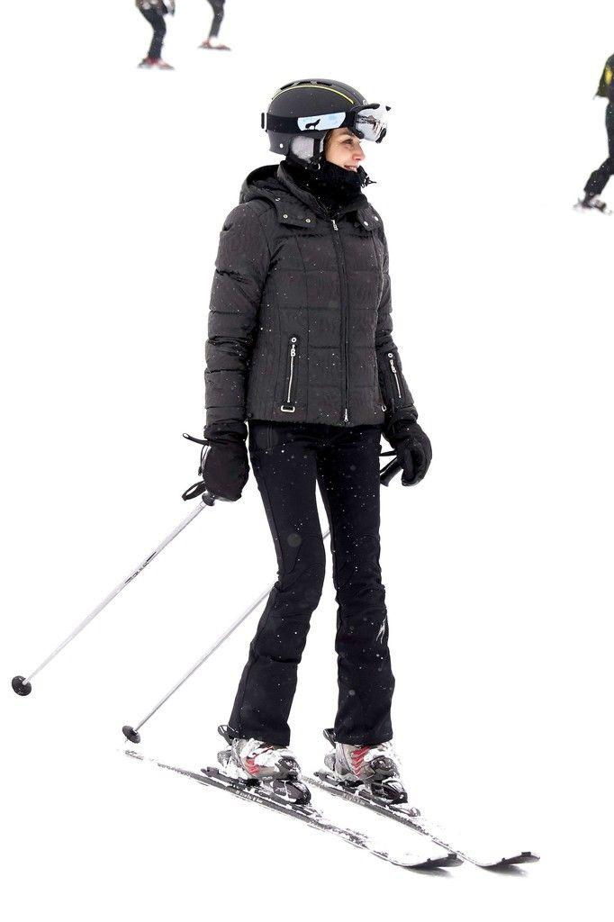 5 February 2017 - Spanish Royal Family on winter holiday at Astún Ski Center