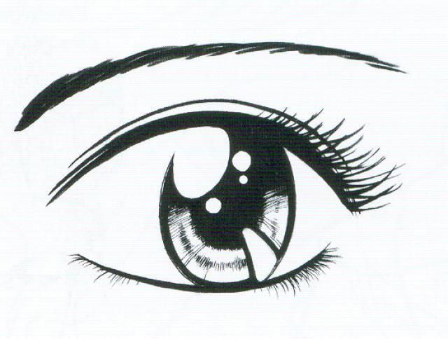 Elementos Destacados De Las Manga Ojos A Lapiz Ojos De Caricatura Ojos Manga