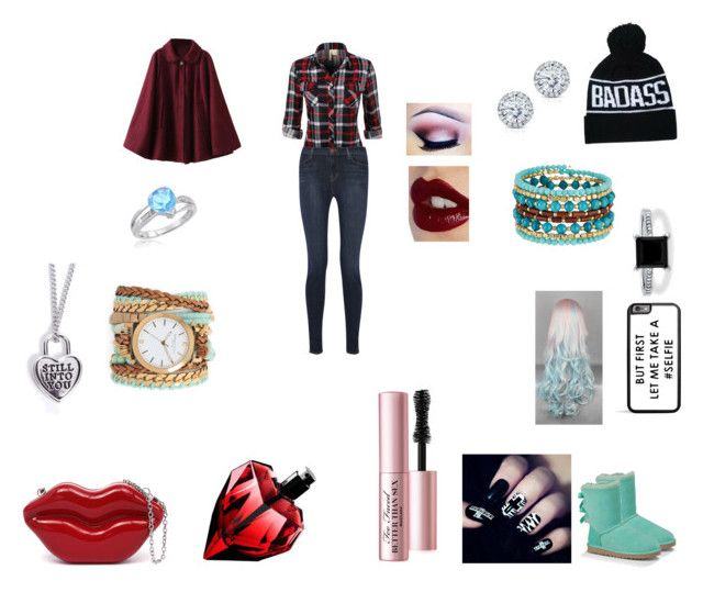 """Date With Data Wang"" by tayloranna-stone ❤ liked on Polyvore featuring J Brand, UGG Australia, BERRICLE, Amanda Rose Collection, Kobelli, Madison Parker, Sara Designs, Too Faced Cosmetics and Charlotte Tilbury"