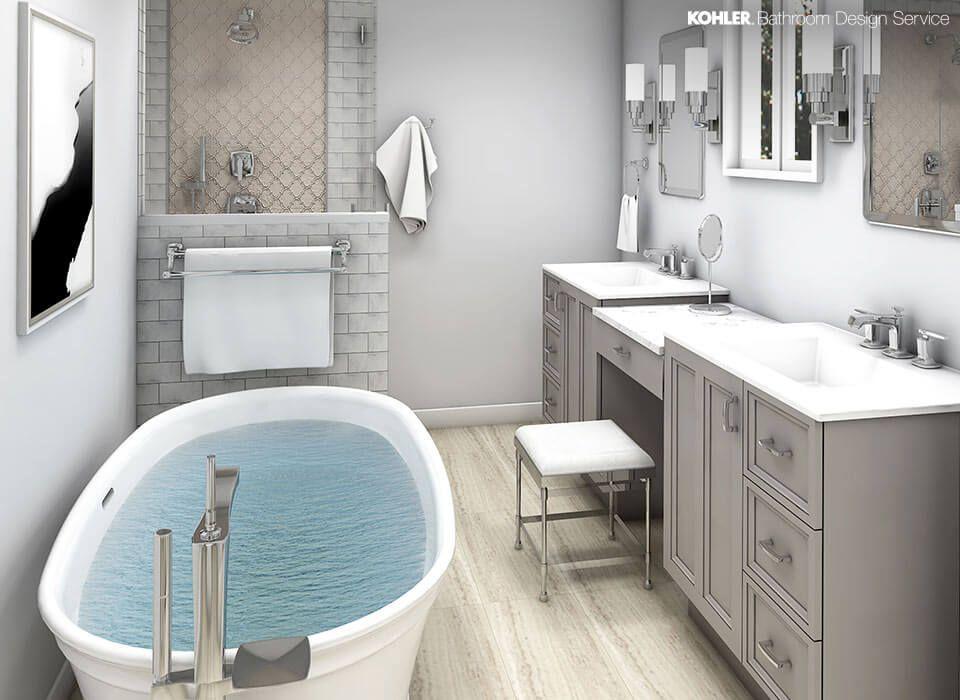 KOHLER Bathroom Design Service Personalized Bathroom ...