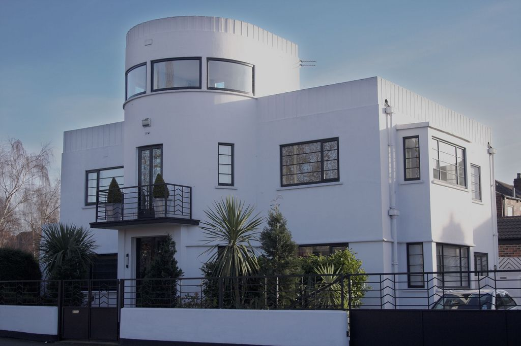 Art deco house castleford architectuur art deco home for Art deco meubilair