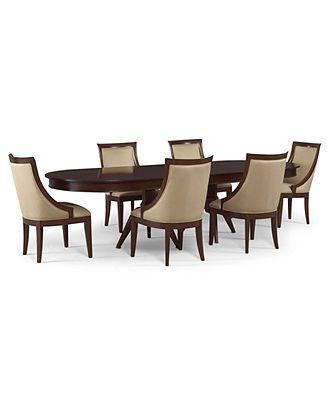 Martha Stewart Dining Room Furniture, Larousse 7 Piece Set ...