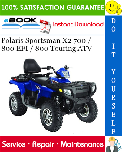 2008 Polaris Sportsman 800 Ho Efi Atv Service Repair Manual In 2020 Repair Manuals Repair Touring