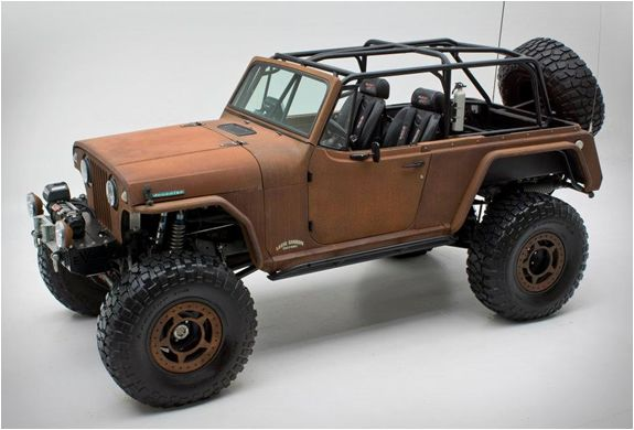 Rusted Terra Crawler By Rch Designs Jeep Mud Trucks Cool Jeeps