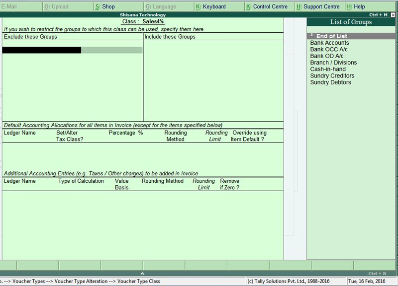 POS Invoice TCS In Tally ERP9 Pinterest Pos - invoice creation