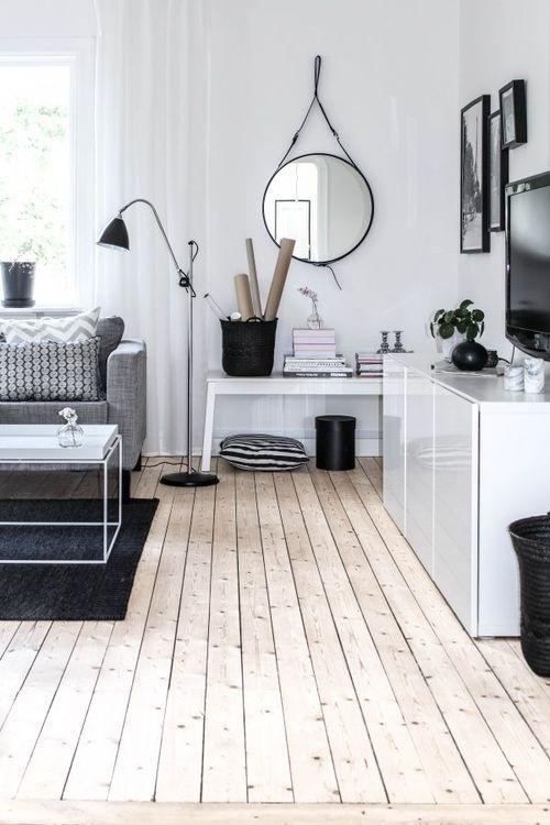 Scandinavian Living Room Interiors Home Decor Decorating