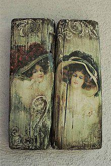 Obrázky - Vintage ženy - duo 02 - 5585369_