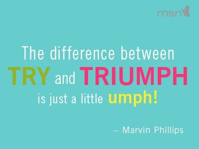 fitness motivational quotes the difference between try