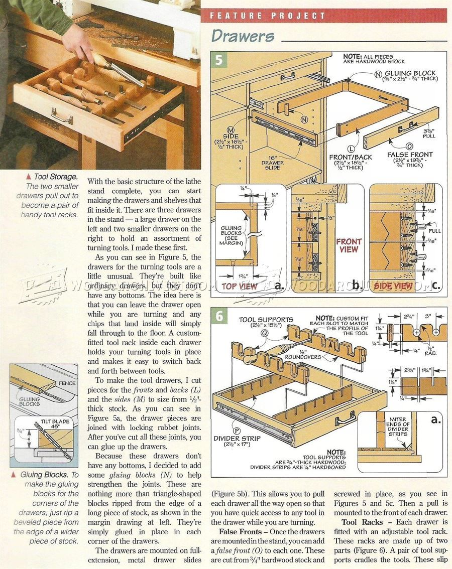 Mini Lathe Stand Plans Woodworking projects, How to plan