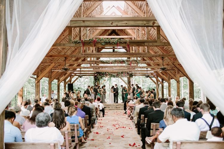 Love This Pavilion Wedding At Alabama 4 H Center In