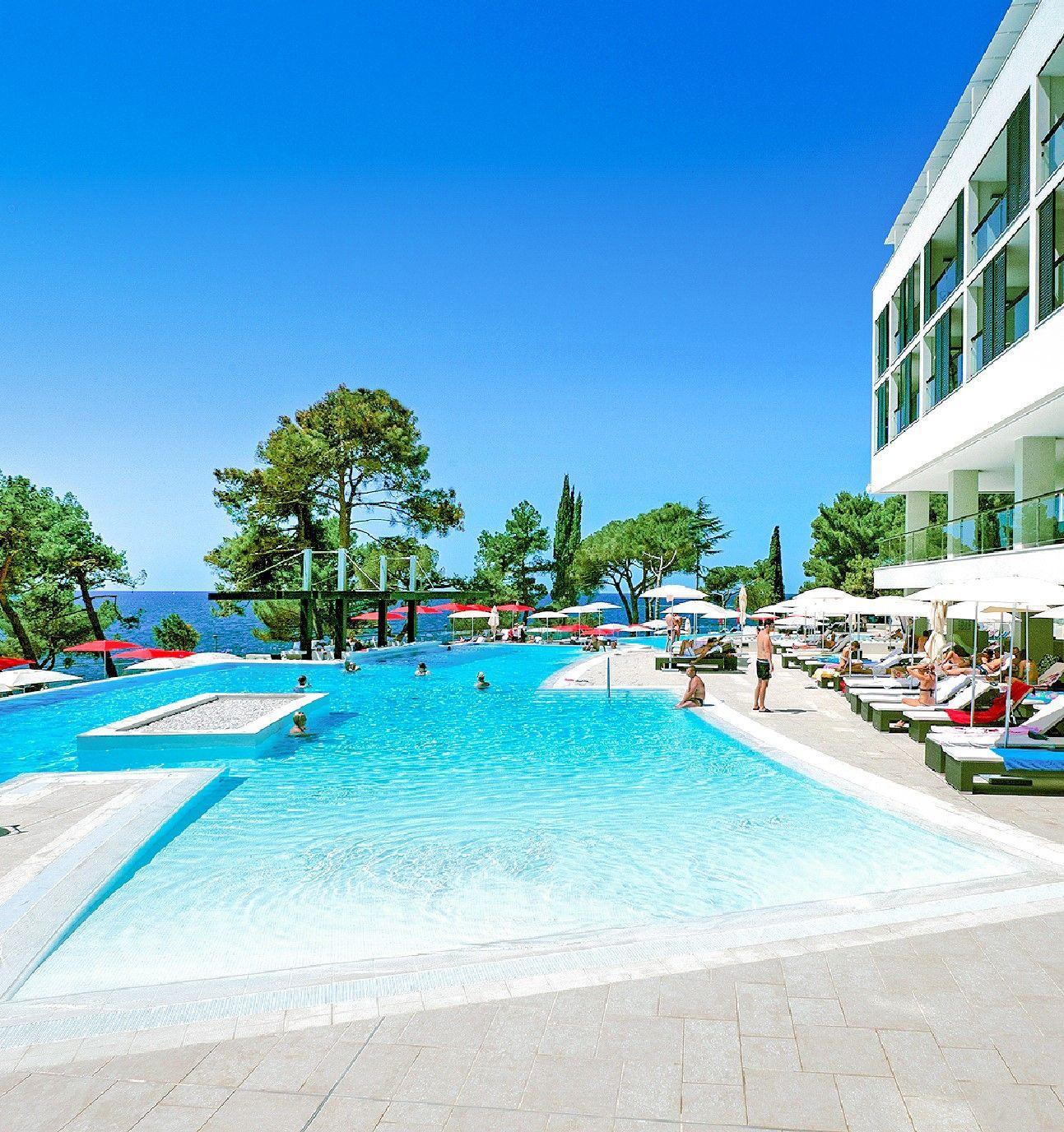 Kroatien, Kroatien Urlaub Laguna Parentium Hotel, Pool