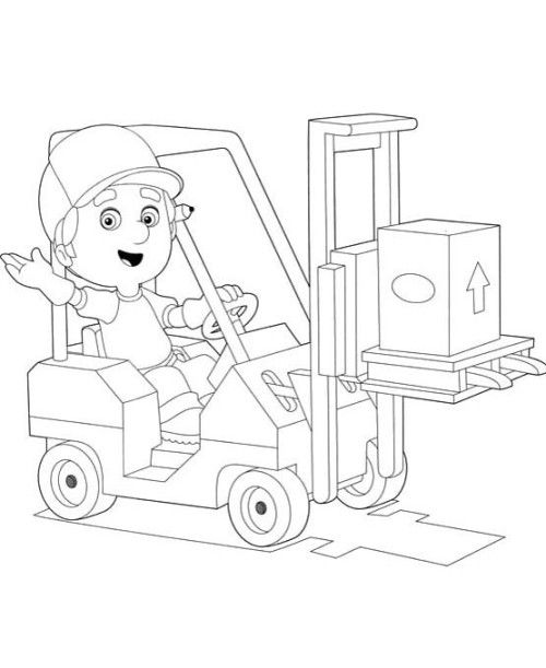 Activity Handy Manny Coloring Pages Coloring Coloring Pages