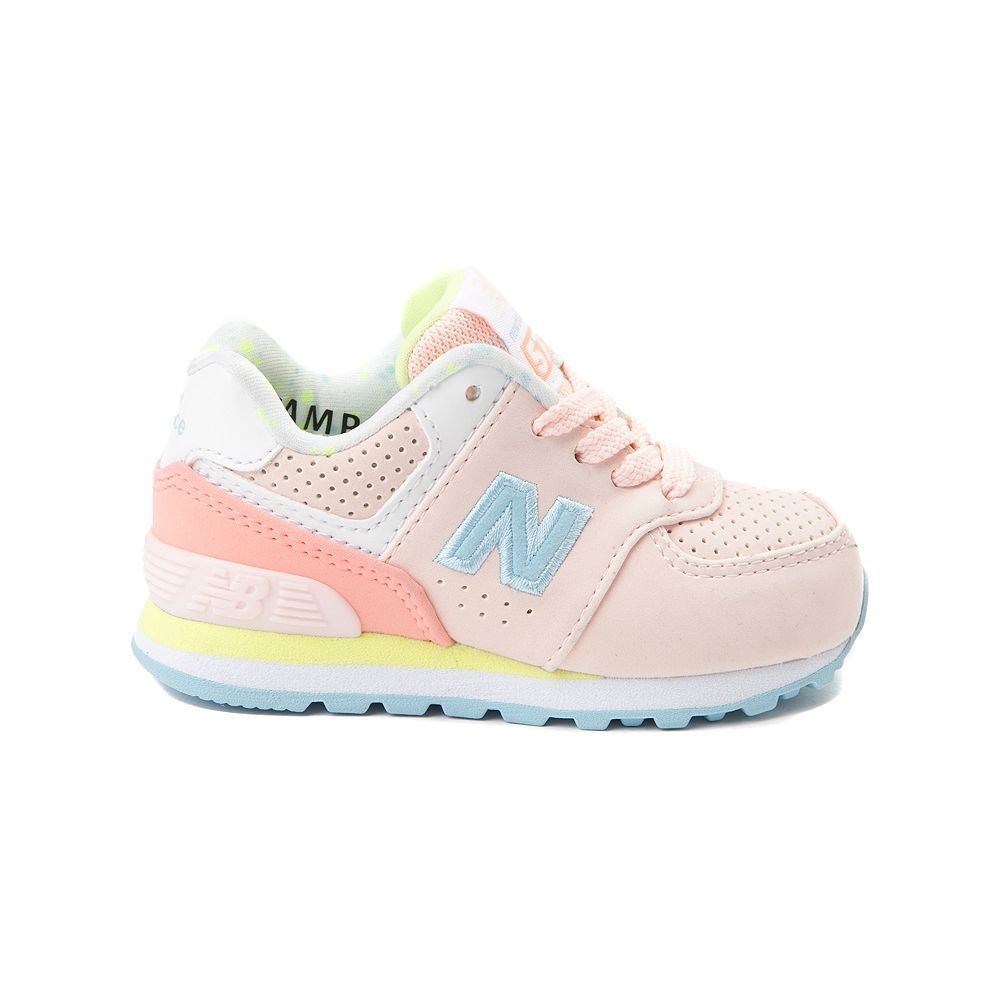 save off 66013 326f7 Toddler New Balance 574 Athletic Shoe - pink - 99401269 ...
