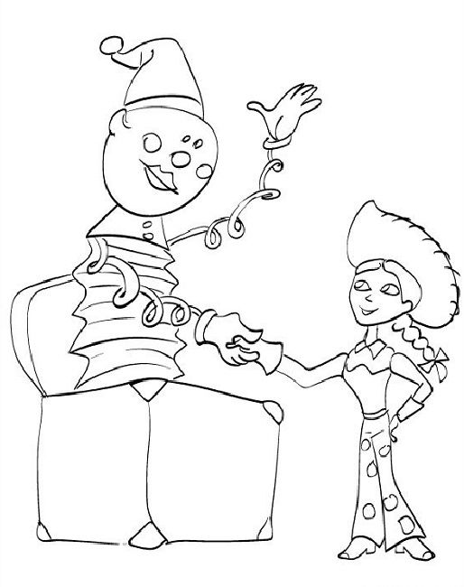 toy story halloween coloring pages Disney Pinterest Halloween - new coloring pages for christmas story