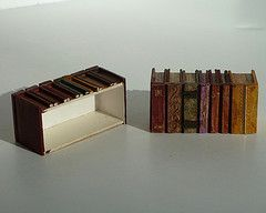 how it looks (dont make a scene) Tags: miniatures library books lincoln tutorial dollhouse roombox maryciccolella dontmakeascene