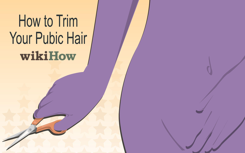 Trim Your Pubic Hair