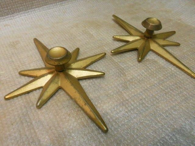 Starburst Mid Century Modern Drawer Pulls