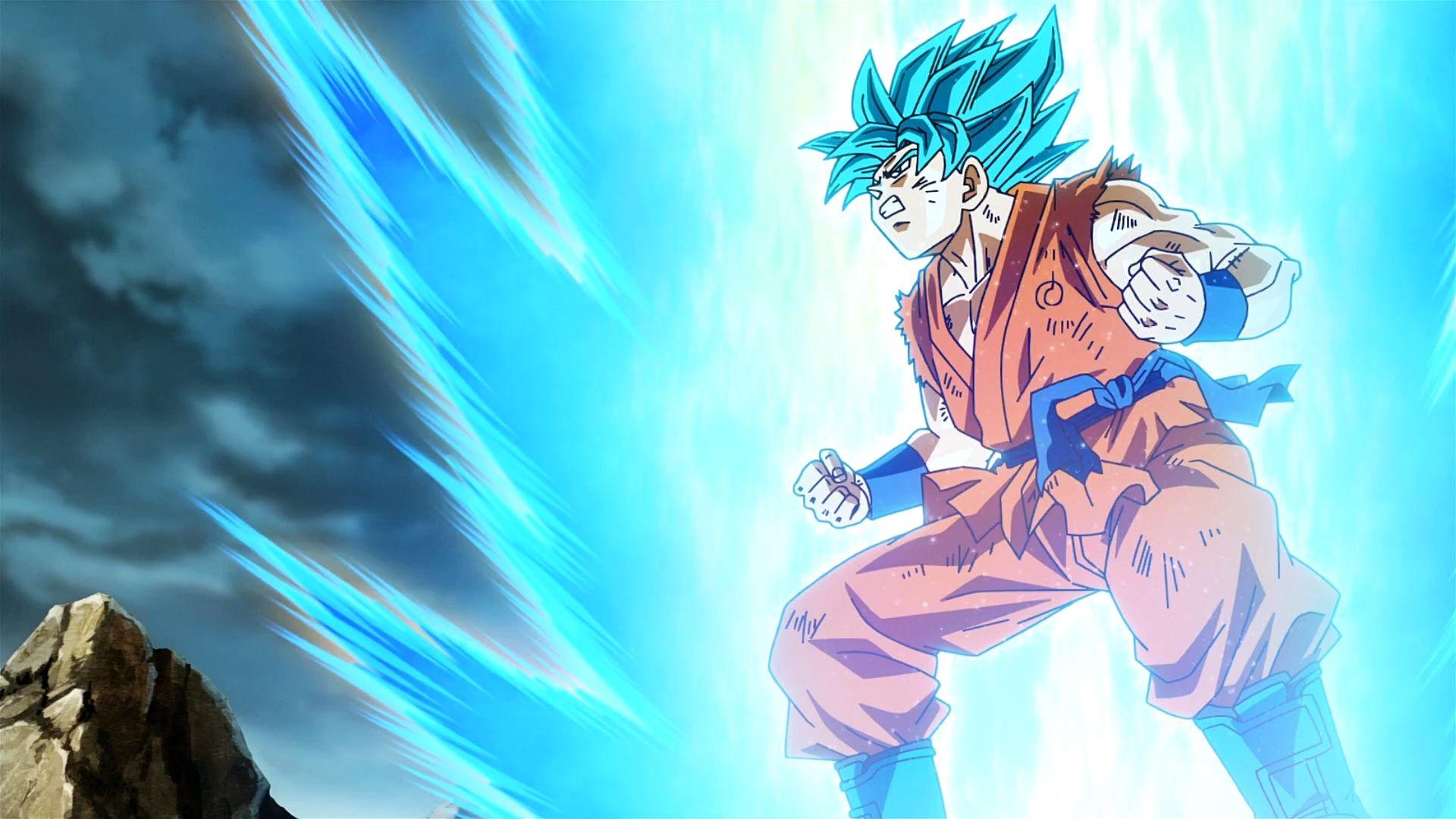 Goku Wallpaper Goku Super Saiyan Wallpapers Goku Super Saiyan Blue Dragon ball z goku blue moon
