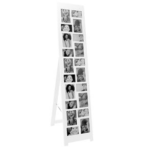 floor standing tower frame white right lets plan a wedding frame multi photo white. Black Bedroom Furniture Sets. Home Design Ideas