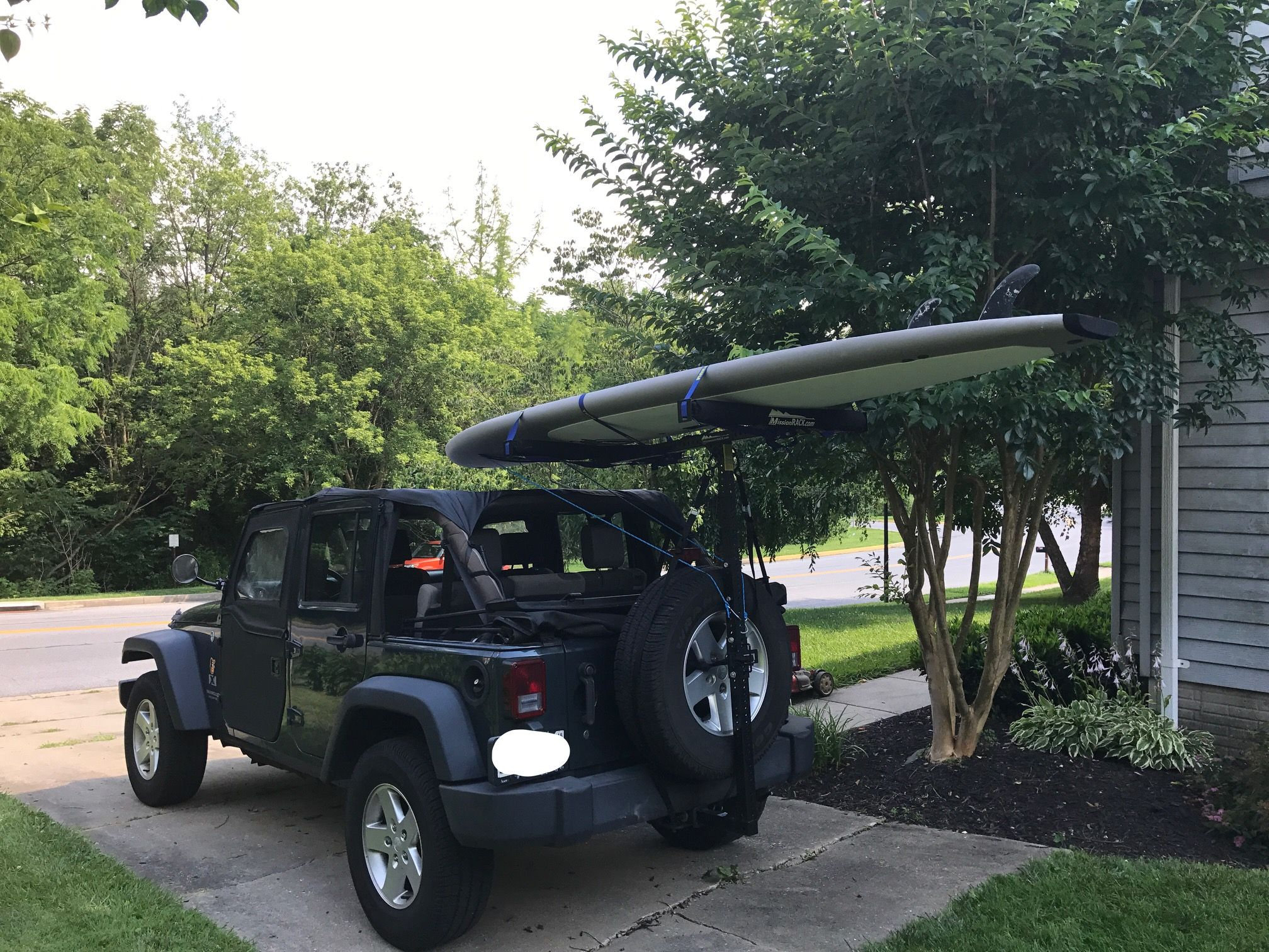 Jeep Hitchmount Rack Suitable For Kayaks And Paddle Boards Jeep