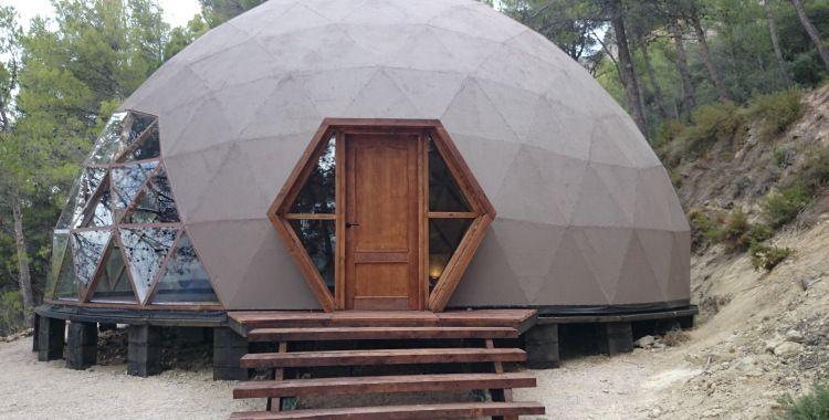 Geodesic dome domos casa geodesica domos geodesicos y - Casas geodesicas ...