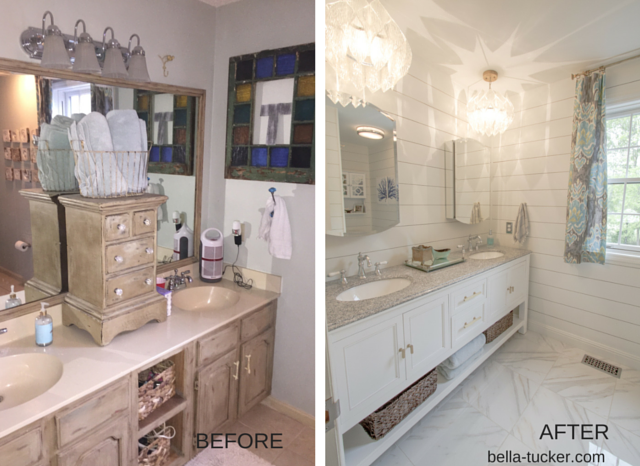 Small Bathroom Remodel Budget budget-bathroom-remodel-before-and-after 640×466 pixels