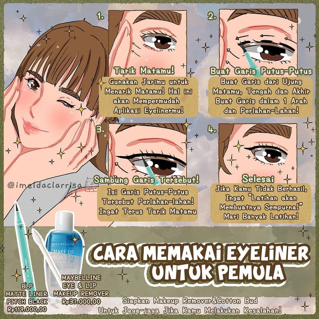 Bagaimana Cara Memakai Eyeliner untuk Pemula? Yuk Coba
