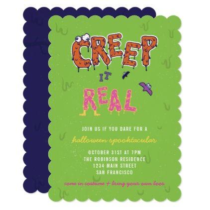 funny costume party halloween invitation birthday gifts party celebration custom gift ideas diy