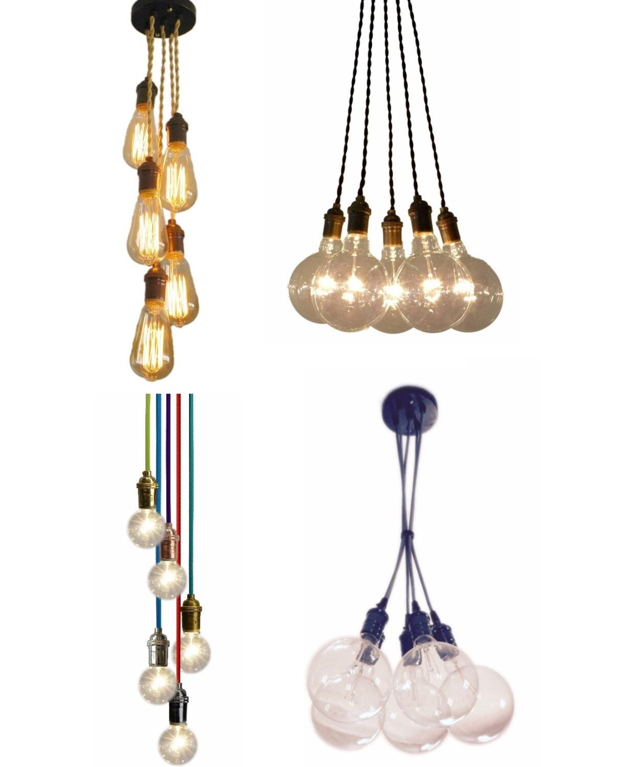 pendant light cluster any colors pendant light industrial