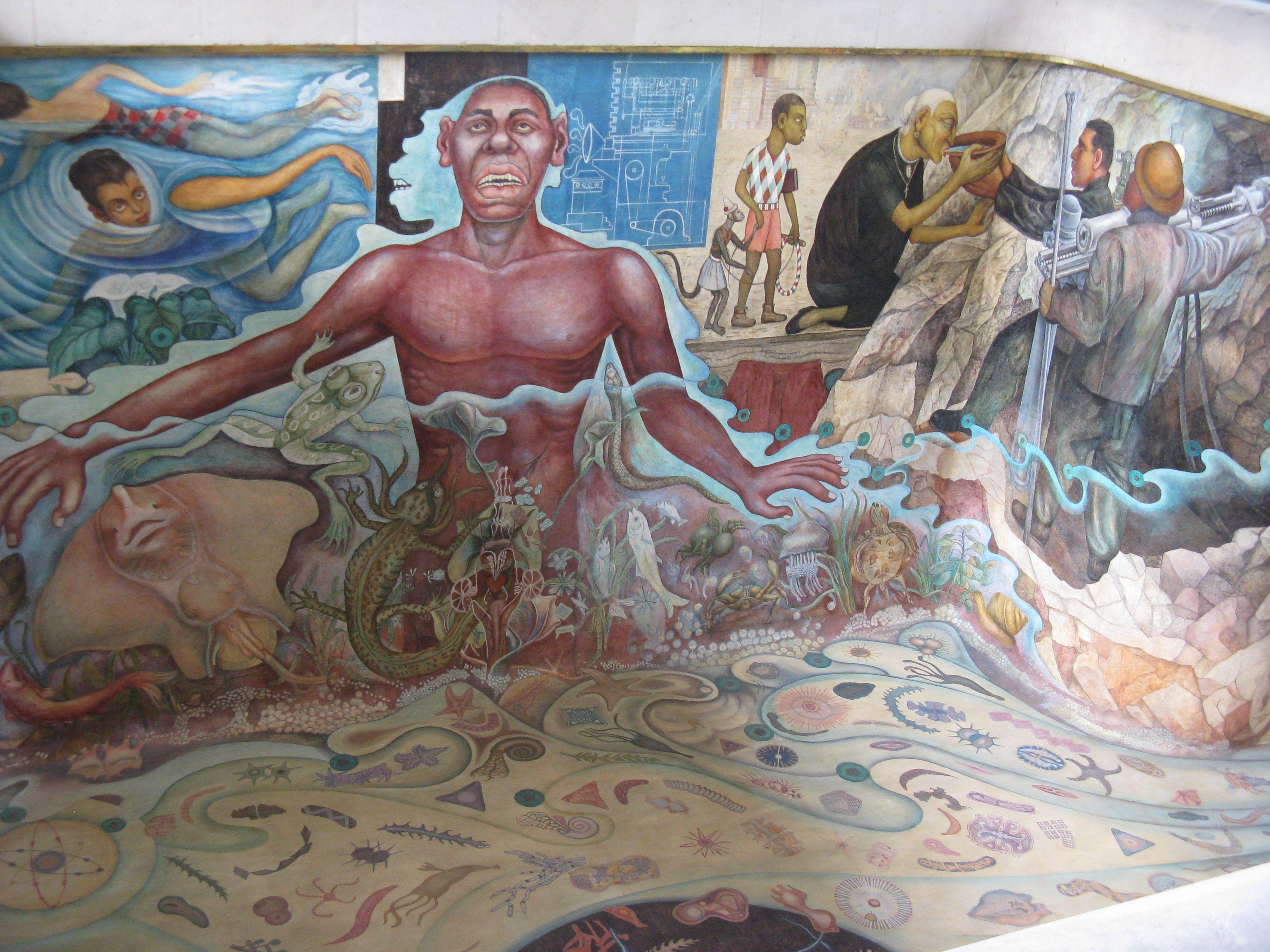 El Carcamo De Dolores Diego Rivera Painting Art