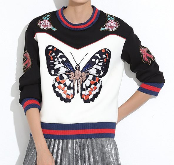 Batia Studded Sweatshirt