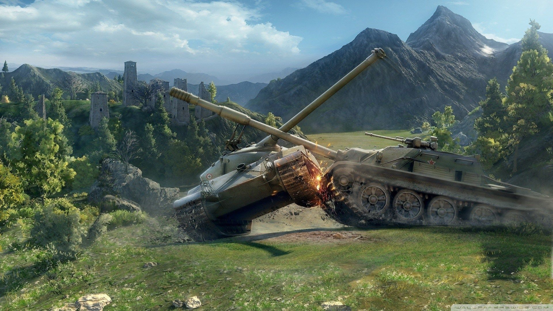1920x1080 Px Hd Wallpaper World Of Tanks By Lashon London For