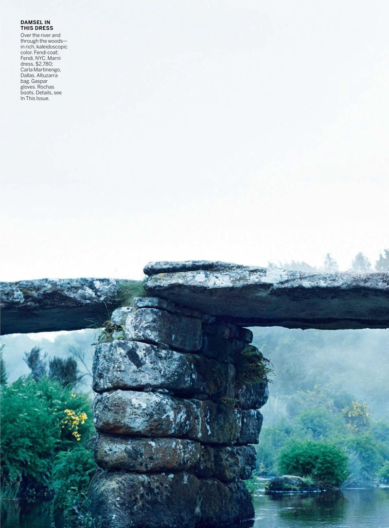 """Dreaming of Dior: """"Into the Woods"""" Raquel Zimmermann for Vogue US September 2015"""