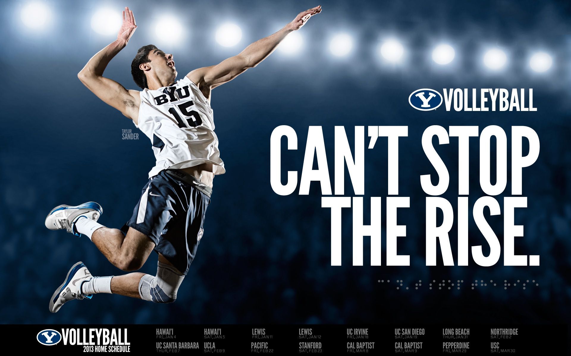 Can T Stop The Rise Byu Volleyball Volleyball Quotes Volleyball Wallpaper Inspirational Volleyball Quotes