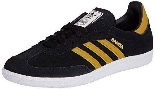 adidas samba uomini trainer nero (nucleo nero / spice giallo f14 st.