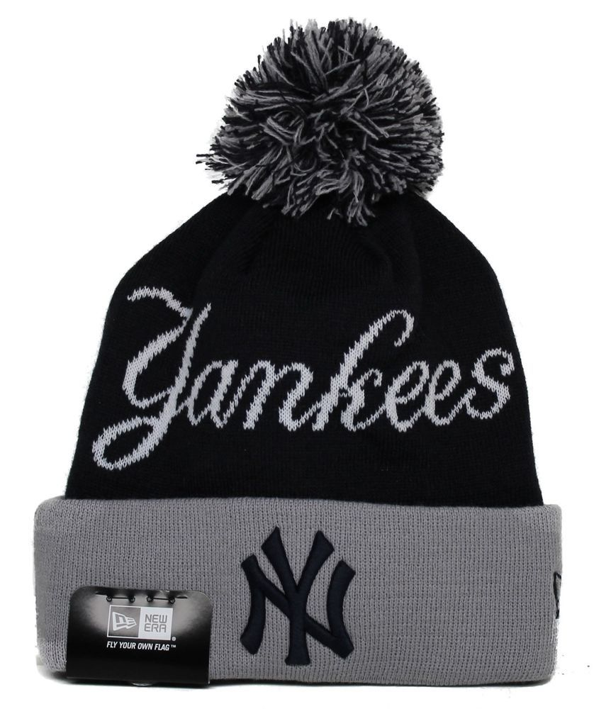 BOBBLE CUFF STRIPE NEW YORK YANKEES - ACCESSORIES - Hats New Era Rzjc51
