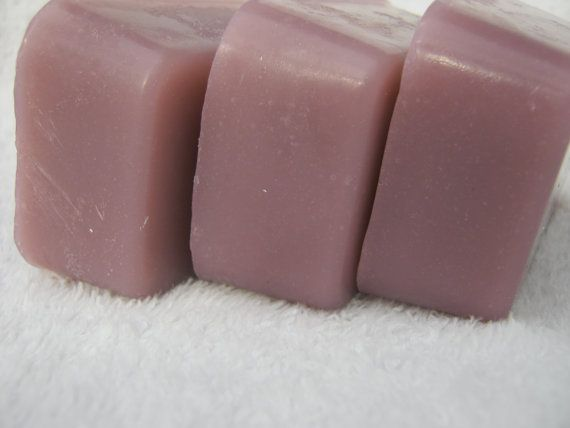 Lavender hot processed glycerin soap by LuxNatures on Etsy, $4.00