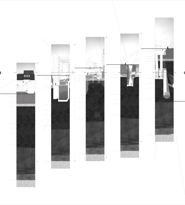 Sections, AA School of Architecture 2014 - Manon Mollard