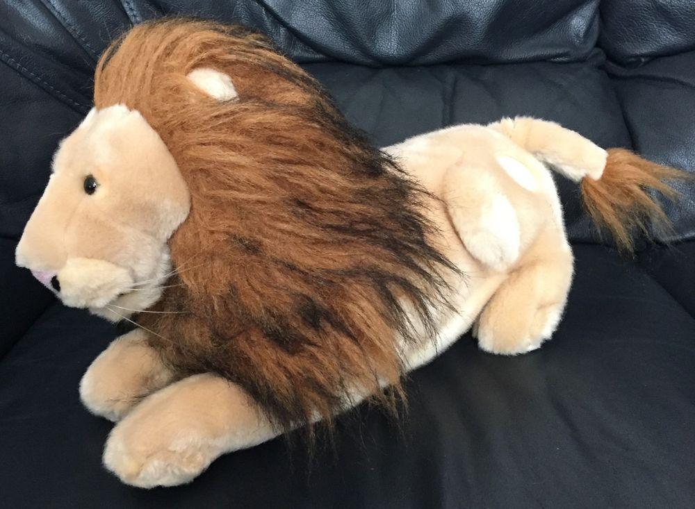 Scary Squeeze Stuffed Animals, Disney Chronicles Of Narnia Aslan The Lion Plush Stuffed Animal Soft Toy 16 Ebay Soft Toy Animals Plush Stuffed Animals Disney Plush