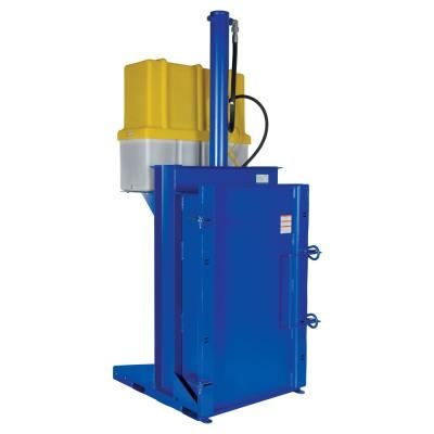 Vestil 230 Volt 3 Phase Hydraulic Drum Crusher Compactor Hdc 905 Idc 230v Compactor Vestil 55 Gallon Steel Drum