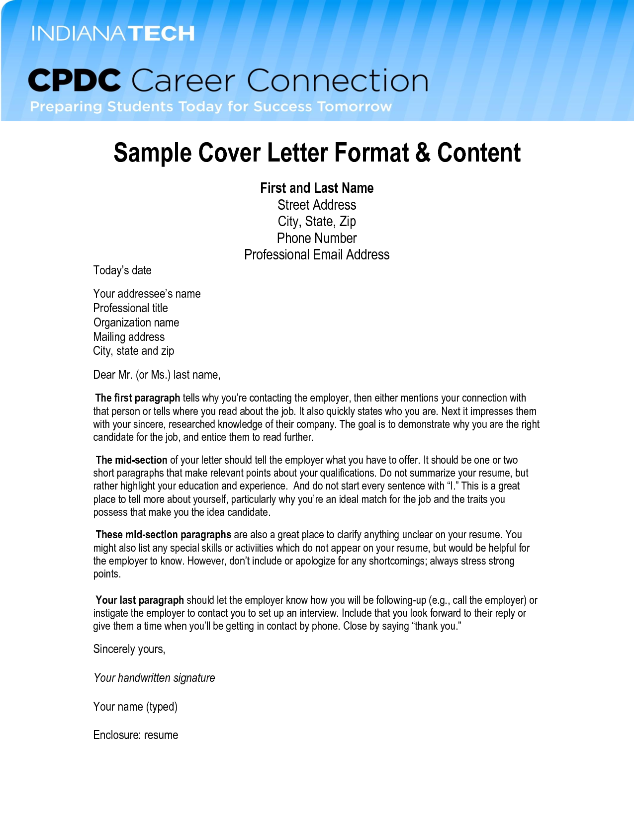 email cover letter format campaign very interested the top with formal business exampleofessional address