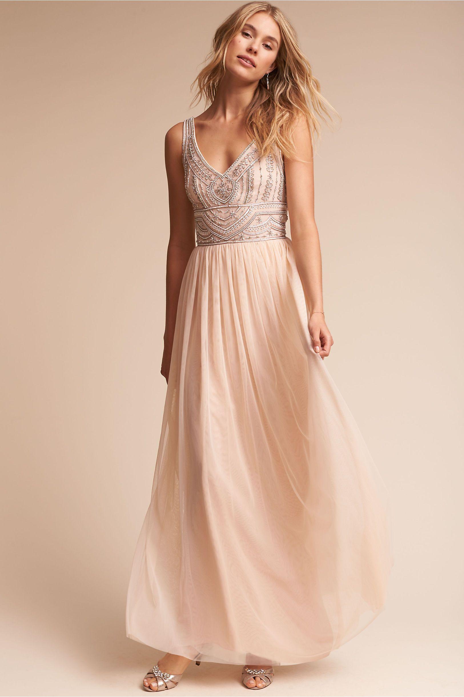 42d332d07efe BHLDN Oyster Sterling Dress in Bridal Party | BHLDN | Mi Estilo ...