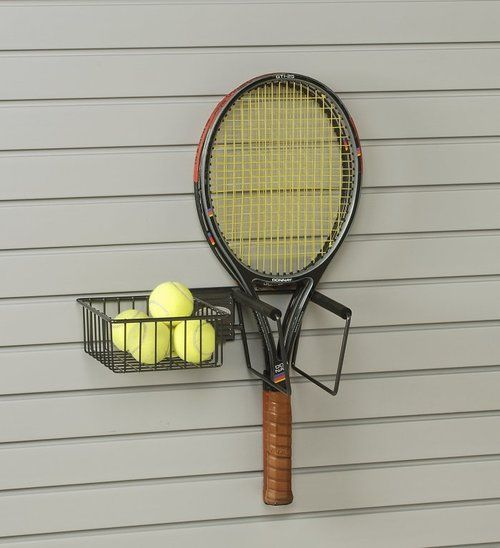 Handiwall Tennis Accessory Holder Connects To Handiwall Slatwall Which Is A Great Tool To Help You With Your Organizati Tennis Racket Tennis Accessories Tennis