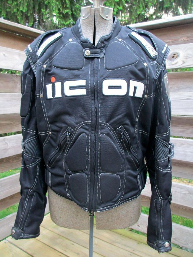 Icon TiMax Mesh Motorcycle / Sportbike Protective Armor