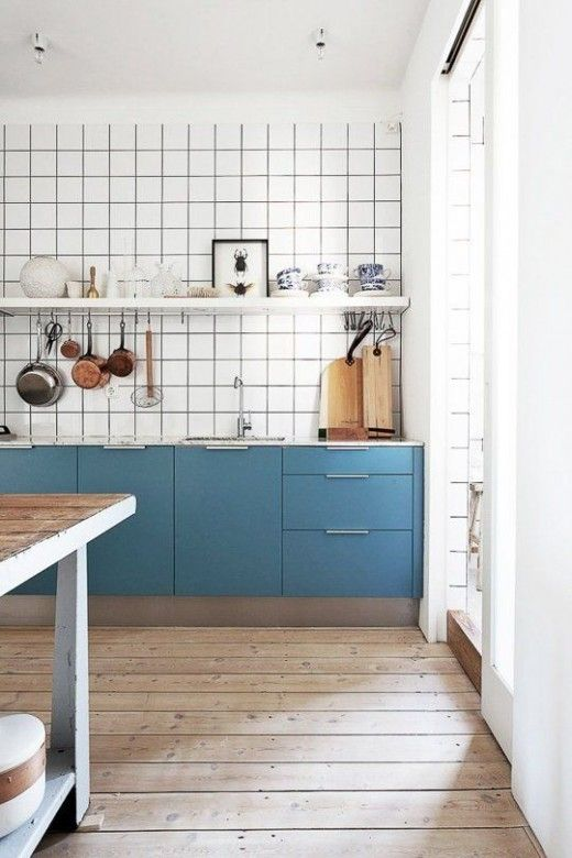 One shelf inspiration in the kitchen via simply grove
