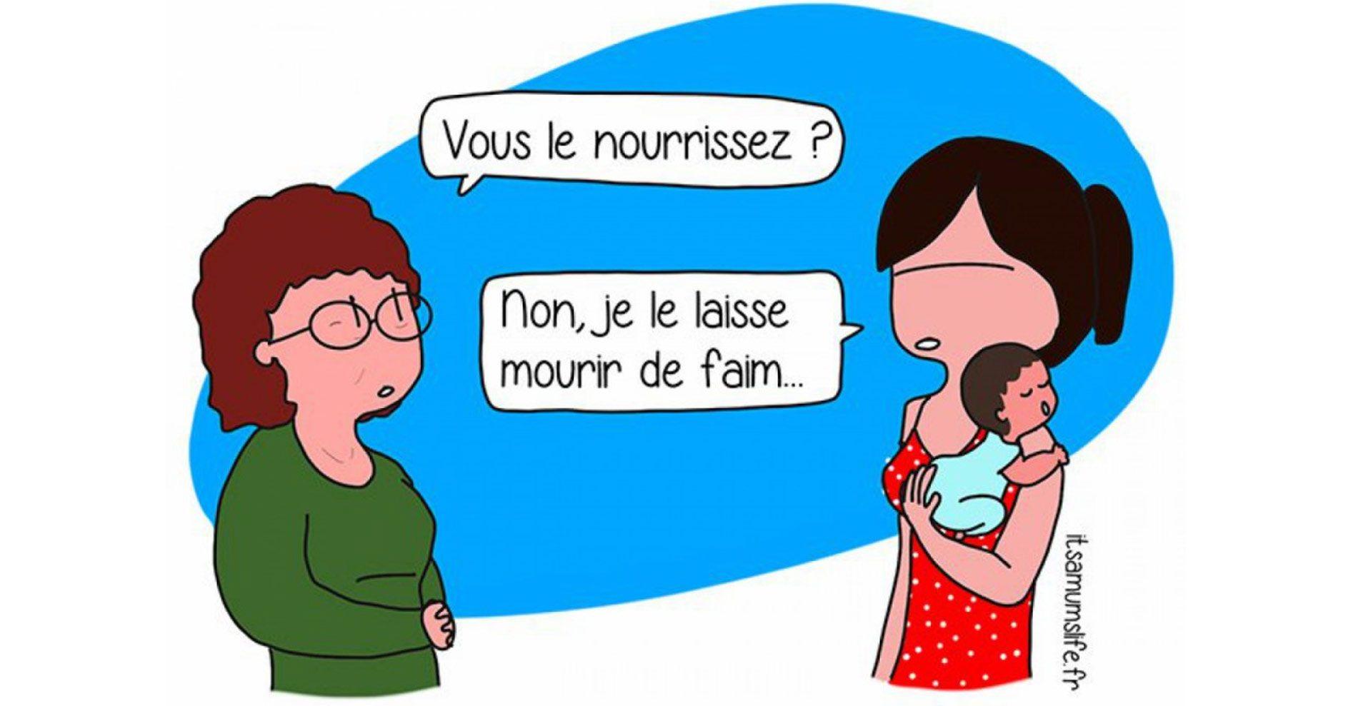 Le quotidien d'une jeune maman illustré en 15 adorables dessins