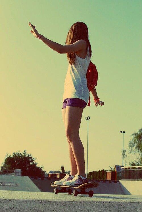 Skateboard girls can skate too surfing warriors pinterest skateboard voltagebd Image collections