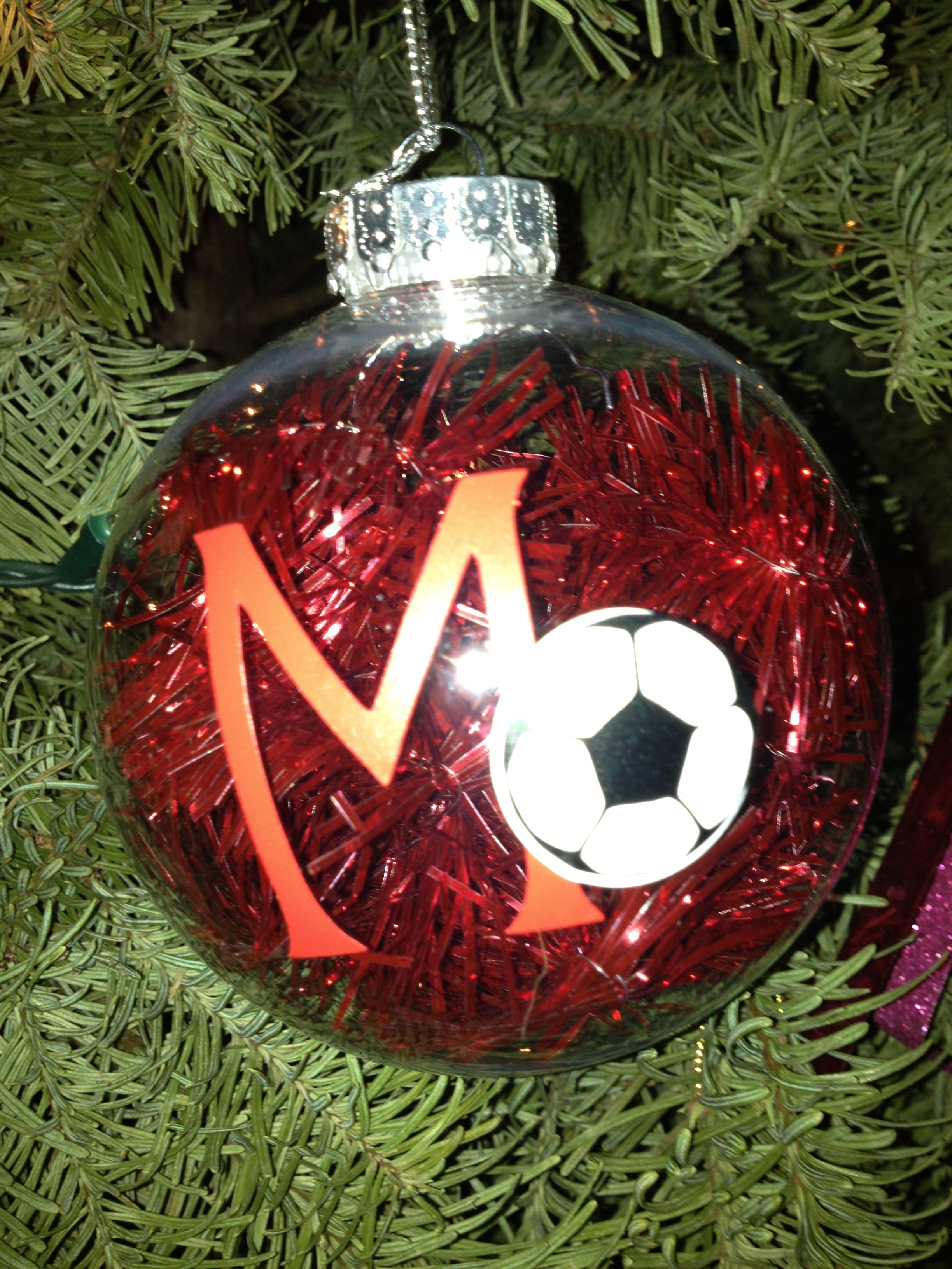 Soccer ornament | Craft Ideas | Pinterest | Ornaments, Soccer and ...