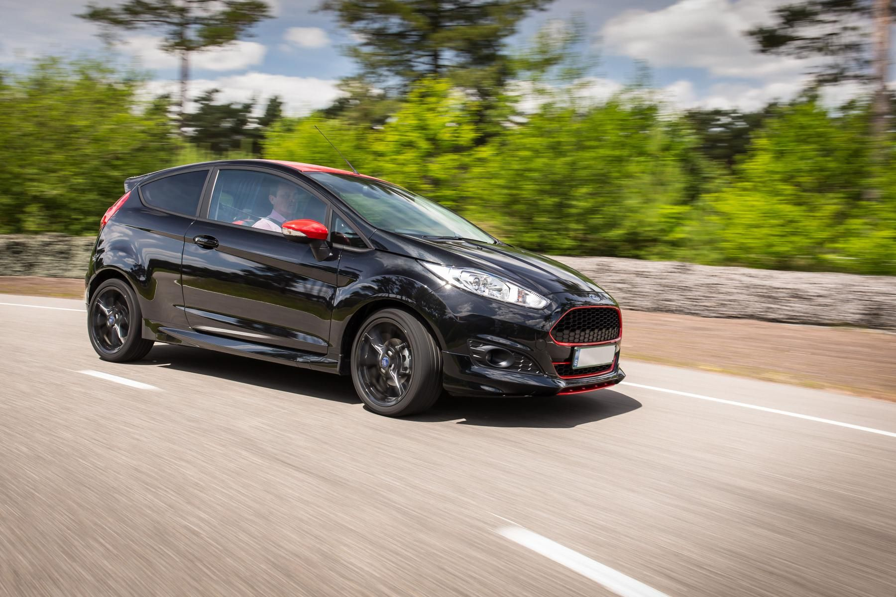 Ford Fiesta Zetec S Red And Black Edition 102kw Three Cylinder